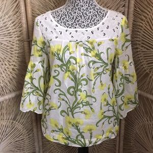 Anthropologie HD in Paris floral blouse 6